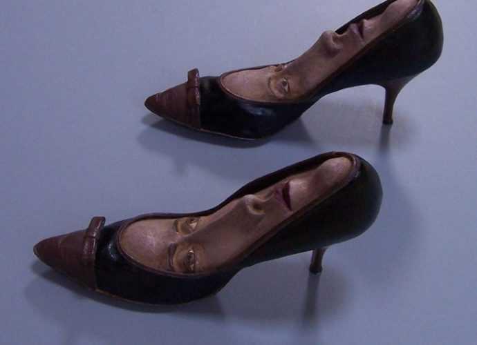 Художница Gwen Murphy. Обувь с характером 252