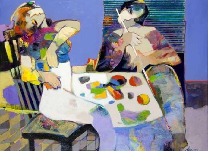Современные художники Ирана. Hessam Abrishami 45
