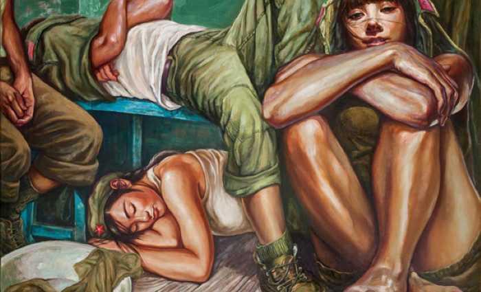Девушки из Народно-освободительной армии. Hu Ming 1