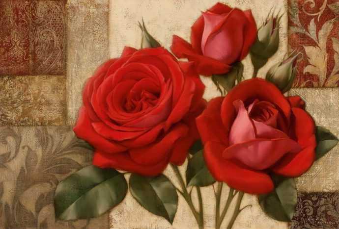 Рисунки цветов. Игорь Левашов 243