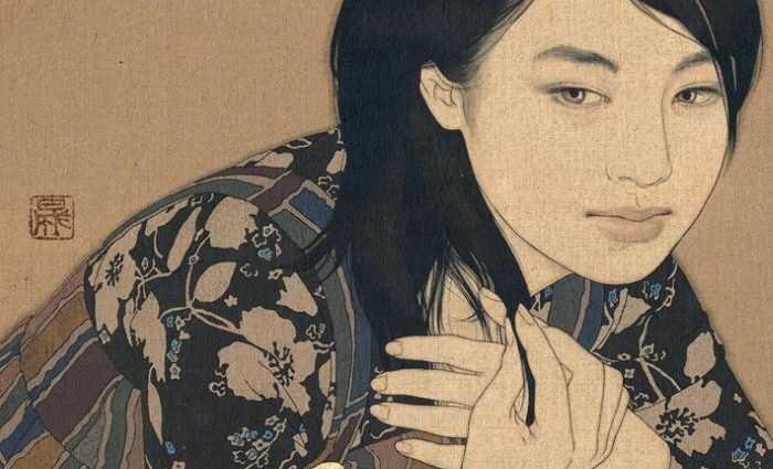 Древняя японская традиция. Ikenaga Yasunari 1