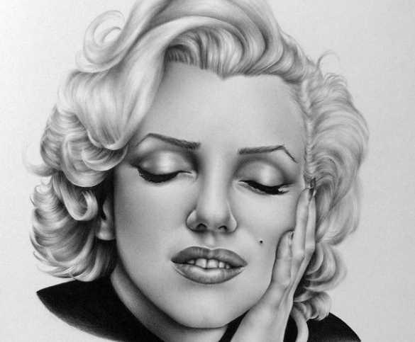 Карандашные рисунки Илеаны Хантер 6