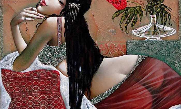 Чувственные и нежные женщины Ira Tsantekidou 1