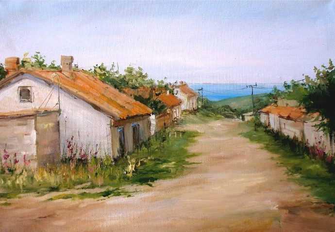 Морской пейзаж. Ирина Мысова 145