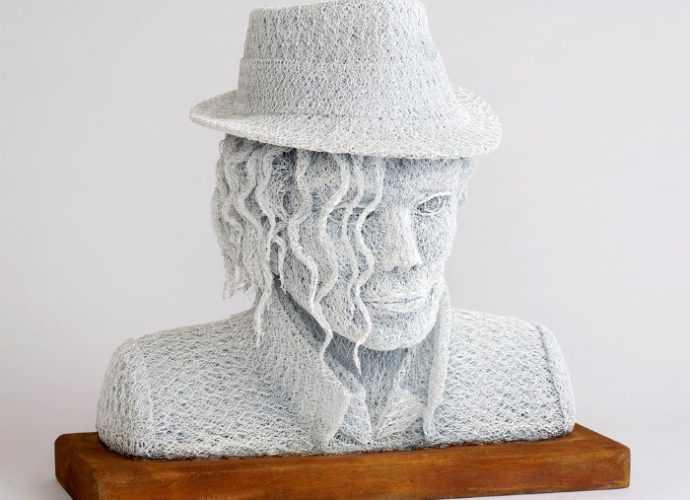 Шерстяные скульптуры. Ivan Lovatt 246