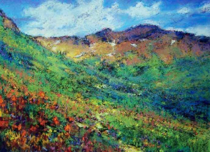Пастельная живопись. Jane Christie 128