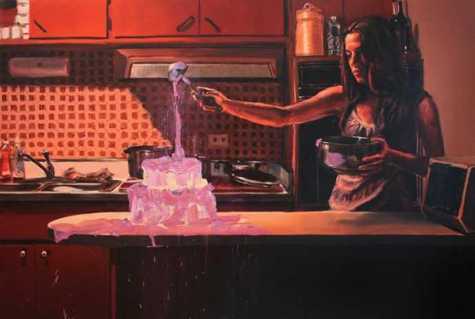 Художница-сюрреалист. Jennifer Cronin 270