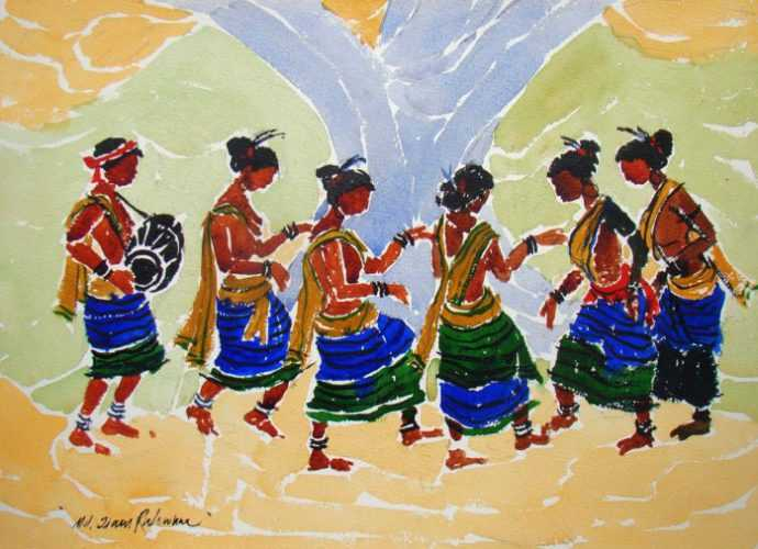 Спонтанные картины. Jiaur Rahman 153