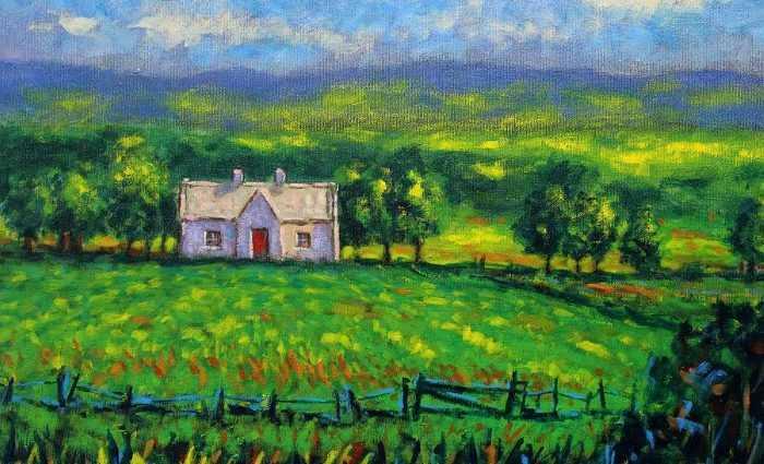 Современные художники Ирландии. John Nolan 1