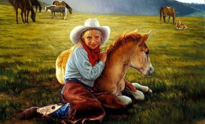Картины об индейцах. Karen Noles 1