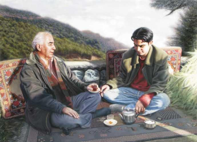 Kasra Kiai. Современные художники Ирана 27