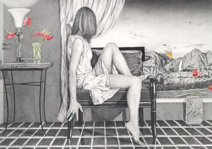 Kay Ruane. Рисунки карандашом 479
