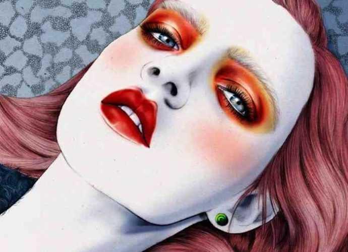 Женский стиль иллюстрации. Kelly Thompson 56