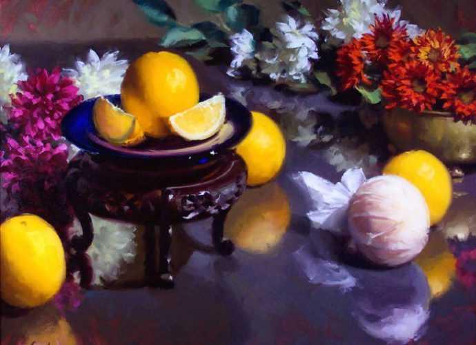 Kurt Anderson. Цветочные картины 106