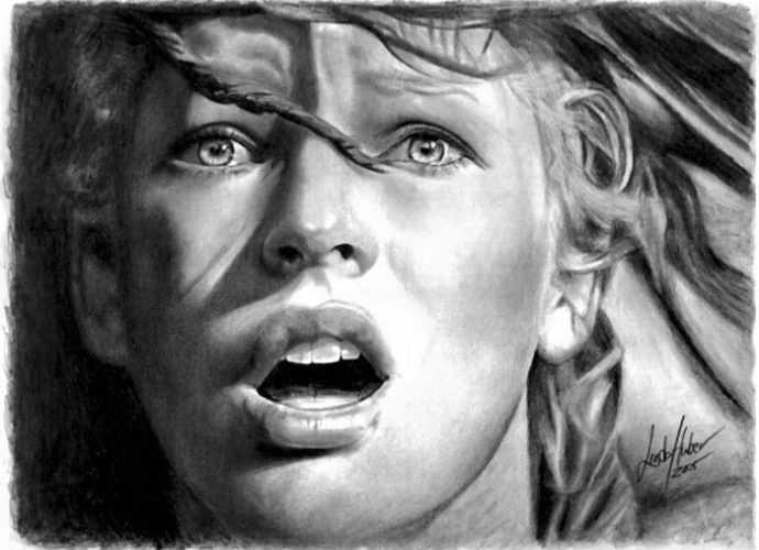 Рисунки карандашом. Linda Huber 543