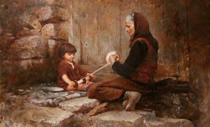 Балканский художник. Ljubo Popadic 1