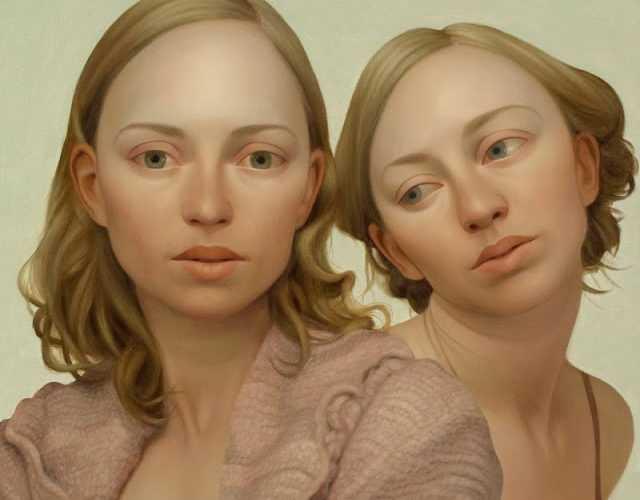 Портреты художника из Китая Lu Cong 38