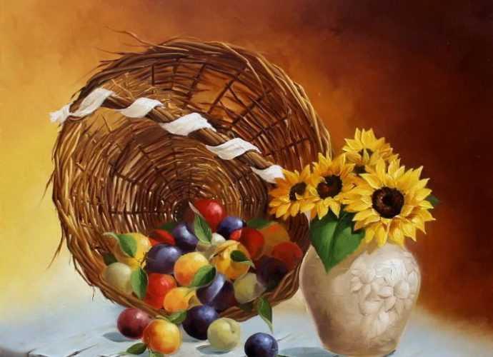 Цветочные натюрморты. Ludivine Corominas 29