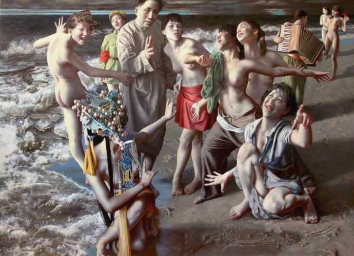Картины в стиле гипер-реализм. Lui Liu 197