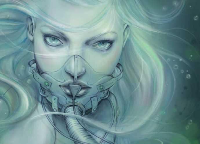 Marjolein Caljouw. Заоблачно красивые рисунки 139