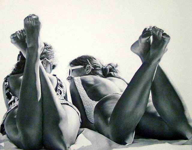 Гипер-реалистичные рисунки Марты Пентер 45
