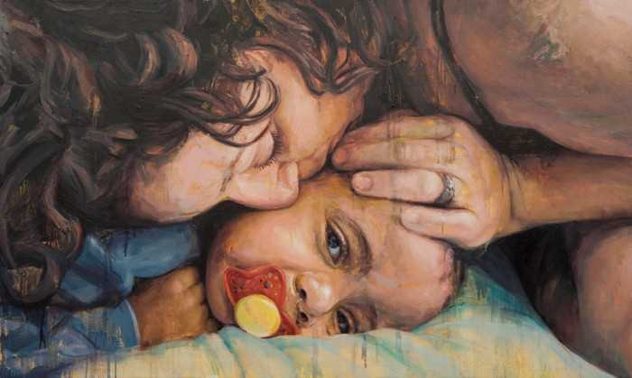 Связь между матерью и ребенком. Michelle Doll 1
