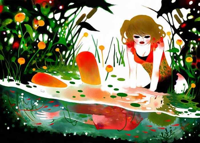 Картины в стиле сюрреализм. Minchi 10