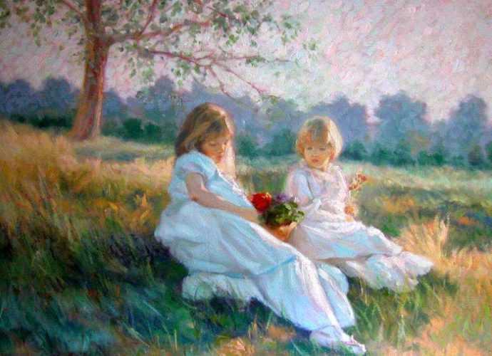 Классическая живопись. Miriam Briks 442
