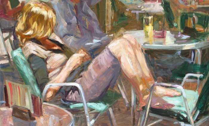 Современные художники Испании. Monica Castanys 1