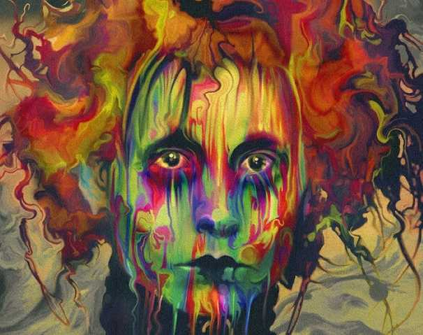 Кислотная живопись. Nicky Barkla 43
