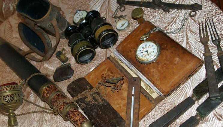 Коллекции старинных вещей – не только красота 1