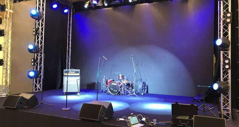 Выбор светового и звукового оборудования для концертов 1