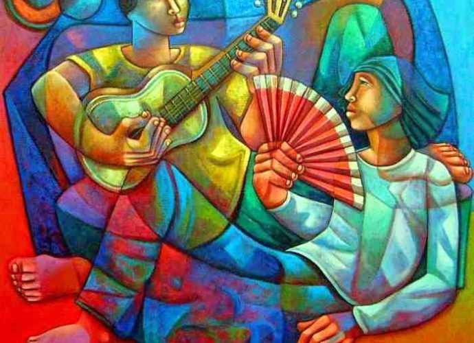 Современный бразильский художник. Adelio Sarro 406