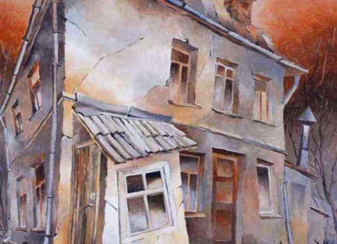 Латвийский художник. Aivars Mangulis 33