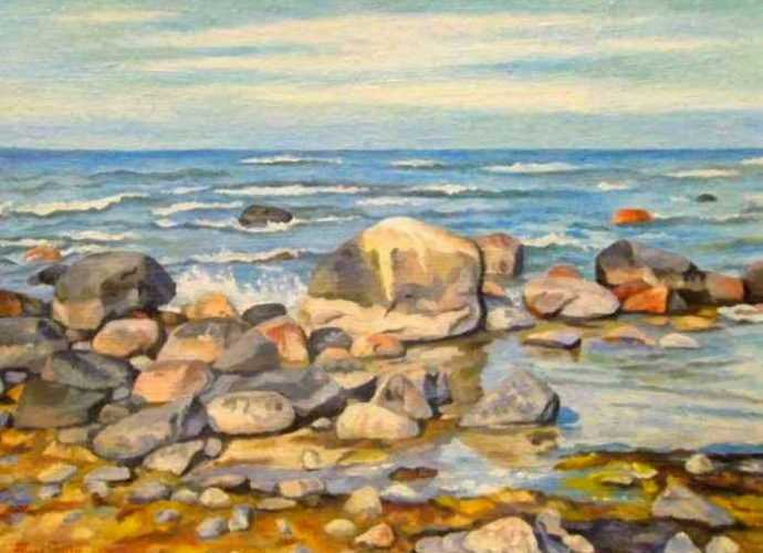 Эстонский художник. Andres Pleesi 27