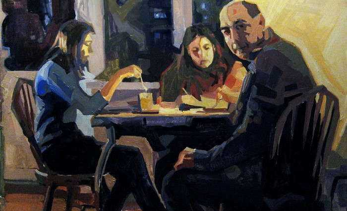 Российский художник. Андрей Мирзоян 1