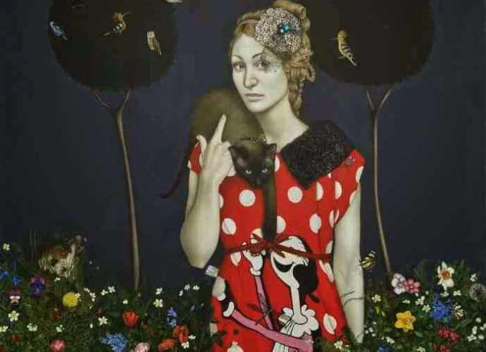 Латвийская художница. Anna Baklane 31