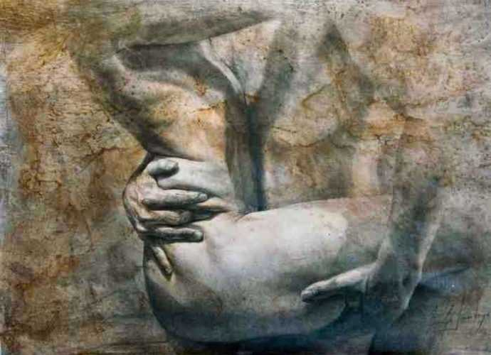 Колумбийский художник. Araujo Santoyo 109