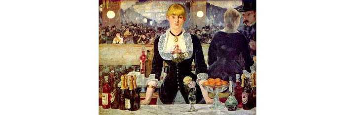 Алкогольные напитки в работах Эдуарда Мане 1