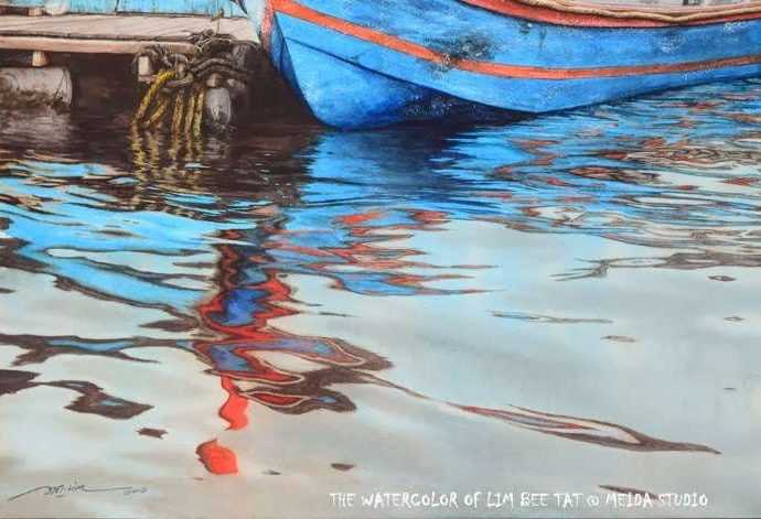 Рапсодия рыбацкой деревни. Bee Tat Lim 54