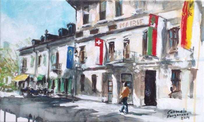 Итальянский художник. Carmelo Margarone 1