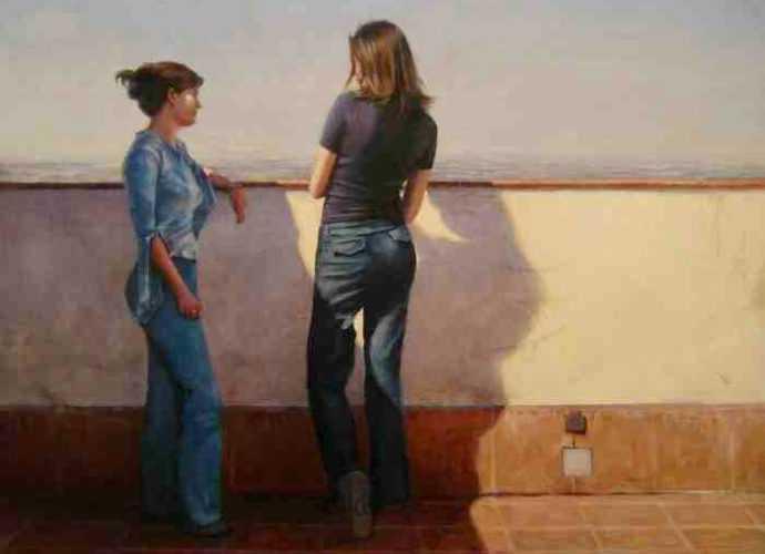 Реалистическая и фигуративная живопись. Daniel Alejandro Rojas Espinoza 54