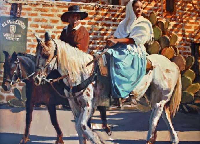 Масляная живопись. David Simons 63