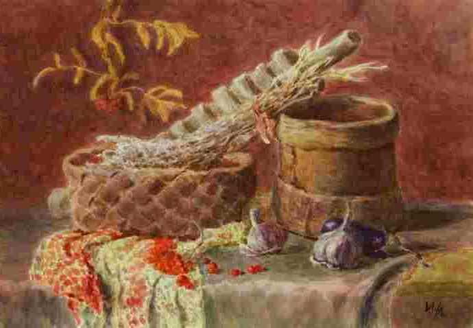 Многослойная акварель. Ломанова Ирина 363
