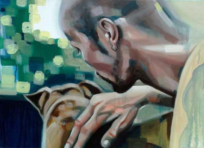 Абстрактная и реалистичная формы живописи. Dora Ragusa 456