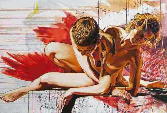 Полу-фантастические, полу-реалистические картины. Edgar Leissing 47