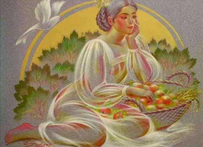 Украинская художница. Элен Зелин 128