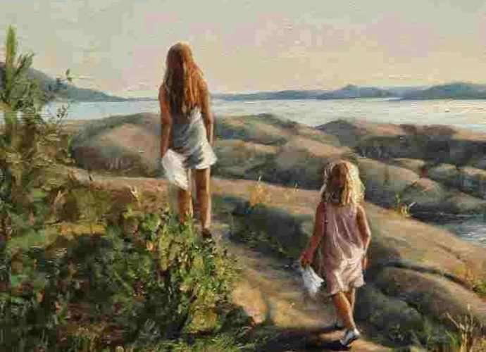Норвежская художница. Elisabeth Gyllensten 7