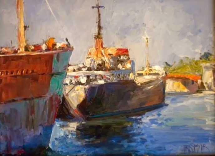 Акварельная живопись. Erik Speyer 284