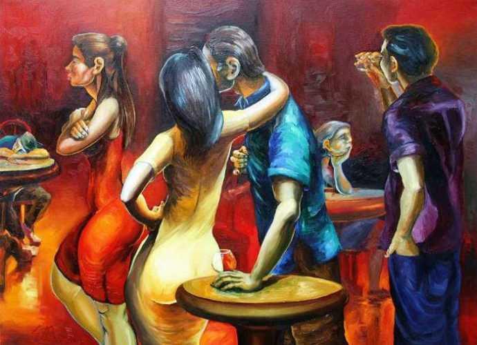 Современный американский художник. Esteban Alvarez-Buylla 52